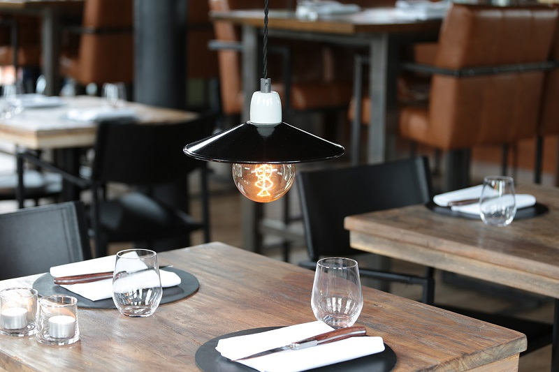 Emaille lamp- 1001810