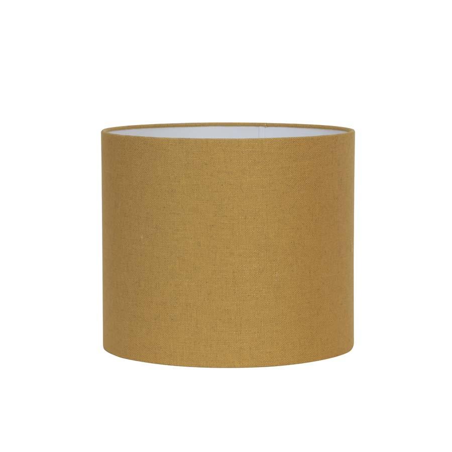 Kap cilinder 40-40-30 cm LIVIGNO oker