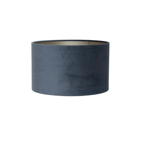Kap cilinder 35-35-30 cm VELOURS dusty blue