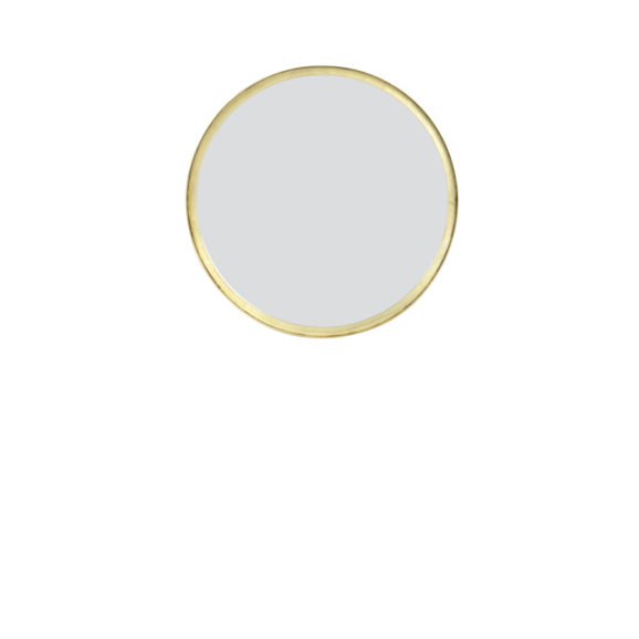 Spiegel BITA - oud brons - S