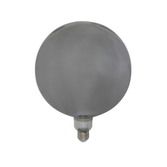 Deco LED globe Ø20x28 cm LIGHT 4W smoke E27 dimbaar