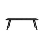 Eettafel CEIRA - mat zwart - L