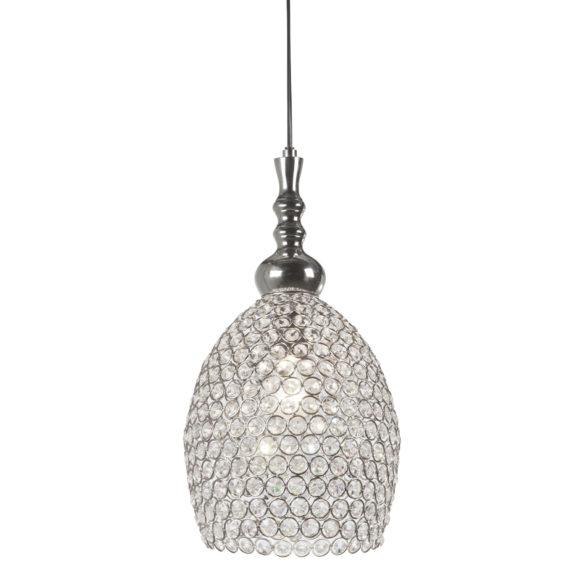 Hanglamp ELZA - Nikkel-Kristal