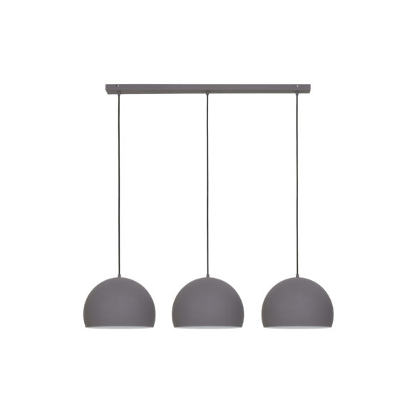 Hanglamp JAICEY - Cement-Mat Wit - 3-Lichtpunten