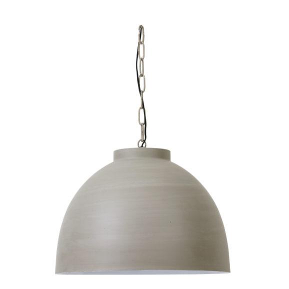 Hanglamp-KYLIE-Beton-Wit-Xl