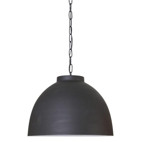Hanglamp KYLIE - Grafiet met Wit Metaal - XL