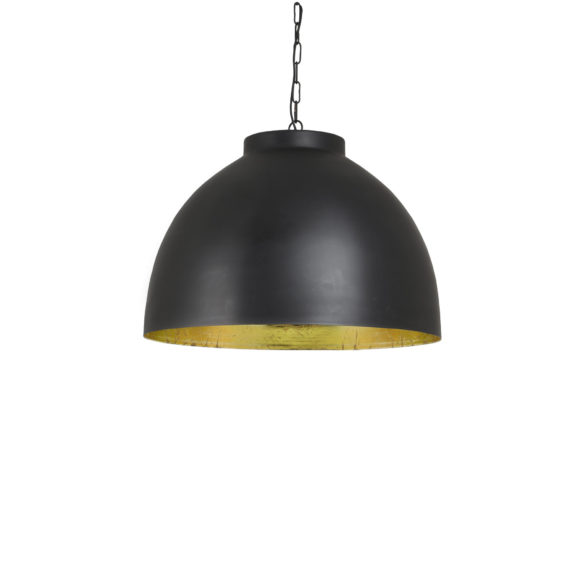 Bestel Hanglamp KYLIE – Zwart-Goud – XL nu online! – DUTCH HOME LABEL