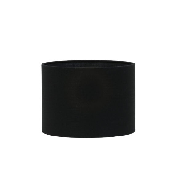 Kap cilinder 35-35-25 cm LIVIGNO zwart