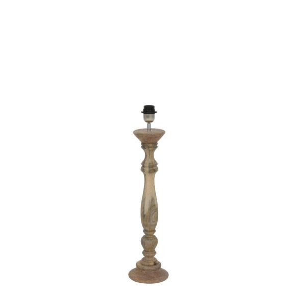 Lampvoet Bellini - hout naturel - L