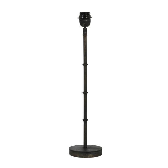 Lampvoet PHUKET - zwart zink - S