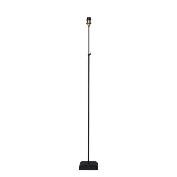 Vloerlamp DAVINO - Zwart Verstelbaar