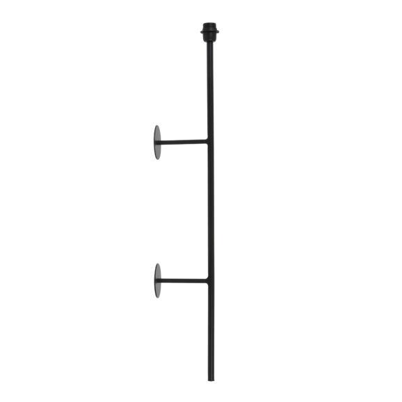 Wandlamp 17x10x100 cm SORIANO mat zwart