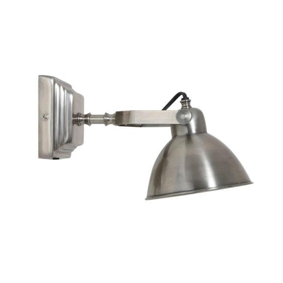 Wandlamp H25 cm GALWAY antiek zilver