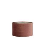 Lampenkap cilinder VELOURS - 35-35-21cm - dusky pink