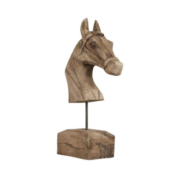 Ornament HORSE - Hout Op Standaard