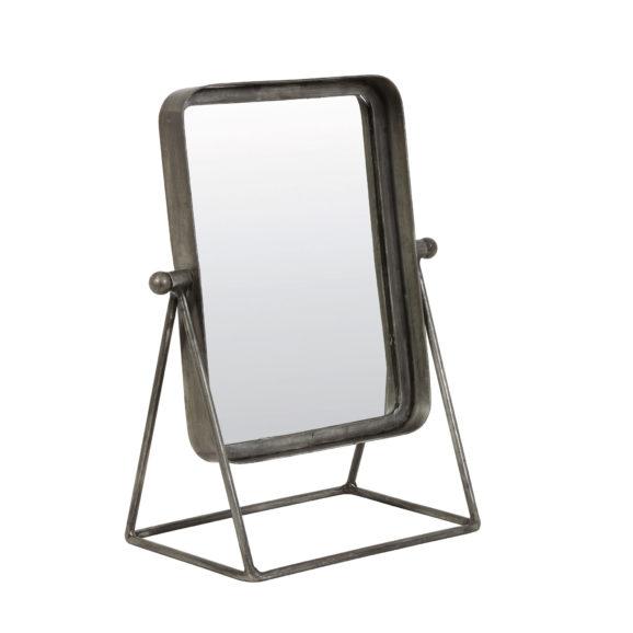 Spiegel 30x18x38 cm TAPOE antiek zink