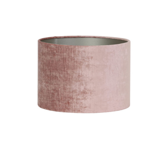 Kap cilinder 40-40-30 cm GEMSTONE oud roze