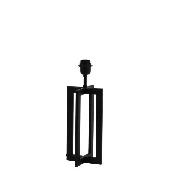 Lampvoet 15x15x35 cm MACE mat zwart