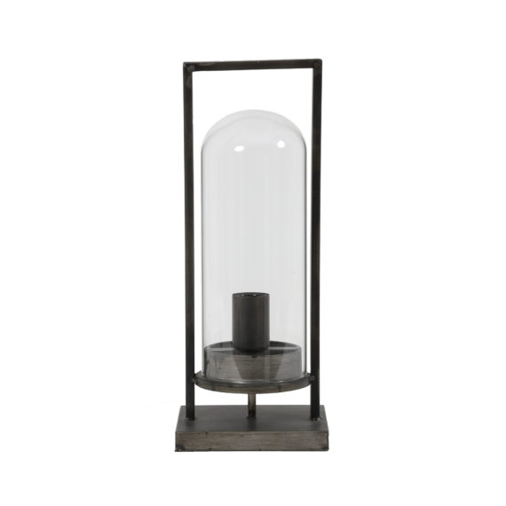 Tafellamp JURRE antiek zwart