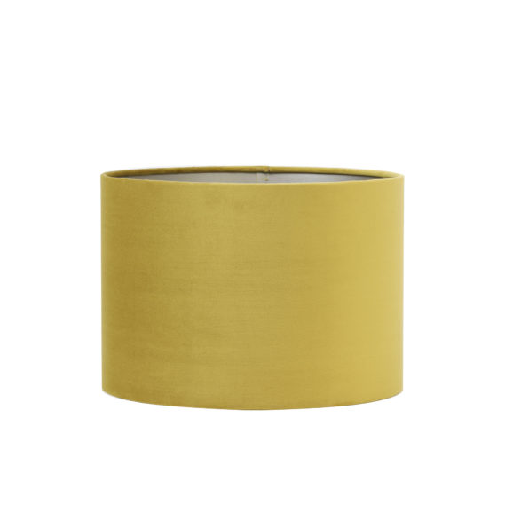 Kap cilinder 40-40-30 cm VELOURS dusty gold