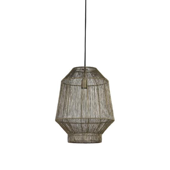 Hanglamp Ø30x38 cm VITORA mat zwart