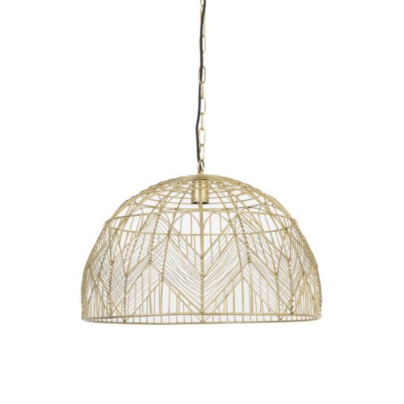 Hanglamp Ø55x39 cm KALIBO goud