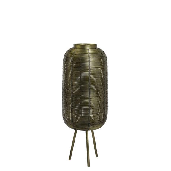 Tafellamp Ø21x55 cm TOMEK antiek brons