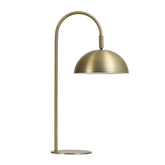 Tafellamp LED 28x20x51 cm JUPITER antiek brons
