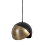 Light & Living - Hanglamp Ø25x21 cm NAMCO antiek brons-mat zwart - 2931118