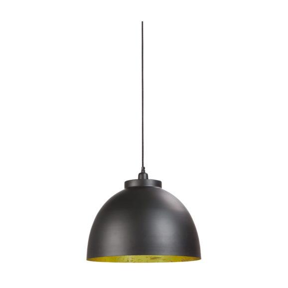 Light & Living - Hanglamp KYLIE - Zwart-Goud - L - 3019412