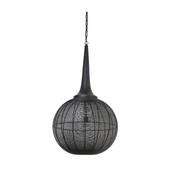 Light & Living - Hanglamp ADRIENNE - Zwart - XL - 3067012