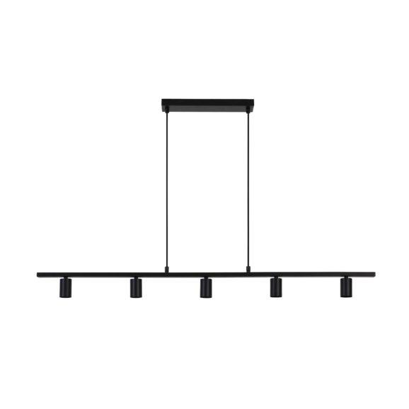 Light & Living - Hanglamp ROKUSINA - Zwart - 5-Lichtpunten - 3080412