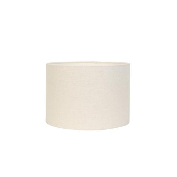 Cilinder Lampenkap Livigno - Eiwit - Ø30 x 21 cm