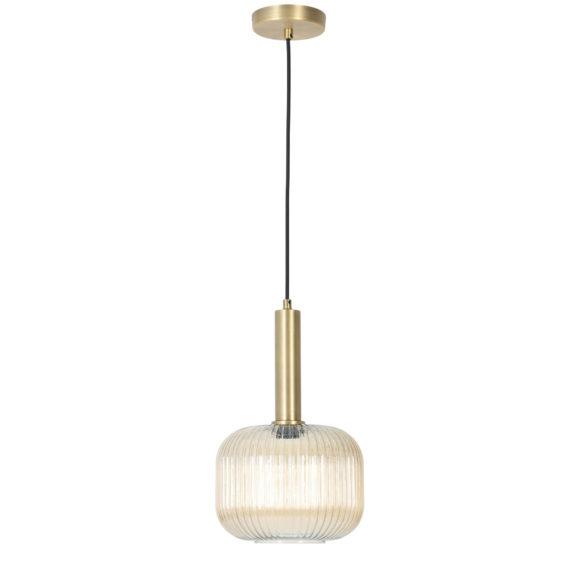 Moderne hanglamp Linnea antiek brons
