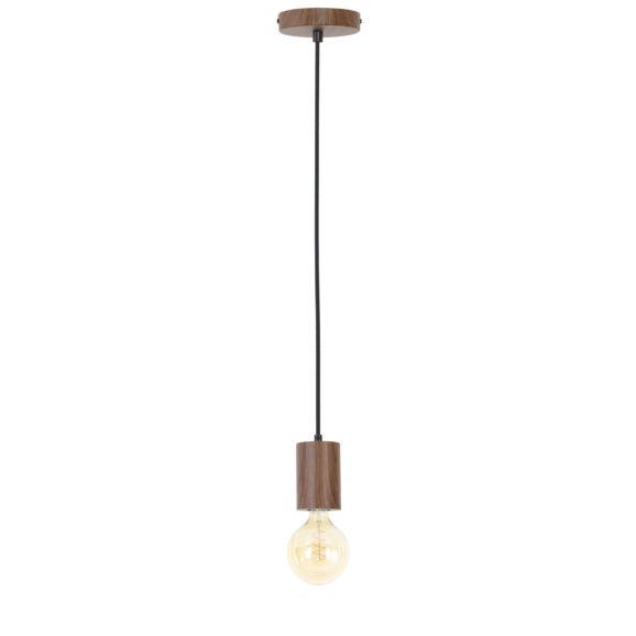 Hanglamp Vidar - Bruin - Ø8x120 cm - Incl. Lichtbron