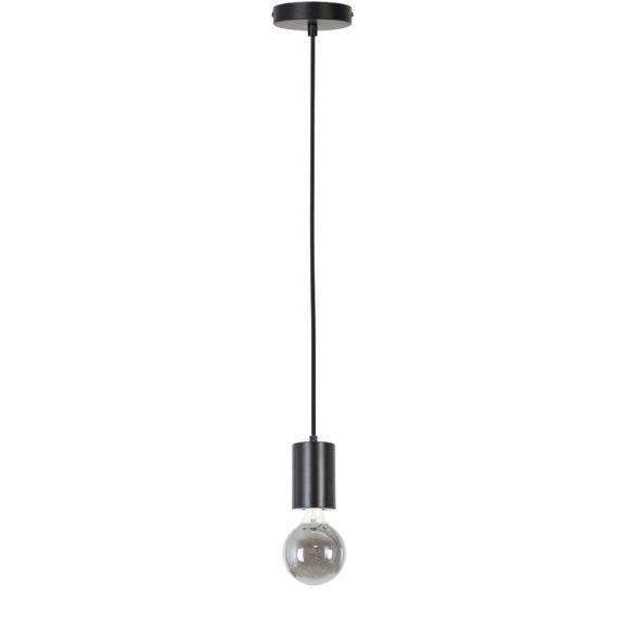Hanglamp Vidar - Mat Zwart - Ø8x120 cm - Incl. Lichtbron